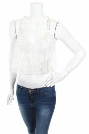 Γυναικείο αμάνικο μπλουζάκι Victoria's Secret, Μέγεθος L, Χρώμα Λευκό, 97% πολυεστέρας, 3% ελαστάνη, Τιμή 5,70€