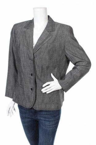 Дамско сако Barbara Lebek, Размер L, Цвят Сив, 100% полиестер, Цена 14,00лв.