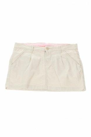 Παιδική φούστα H&M L.o.g.g, Μέγεθος 15-18y/ 170-176 εκ., Χρώμα  Μπέζ, 97% βαμβάκι, 3% ελαστάνη, Τιμή 3,16€