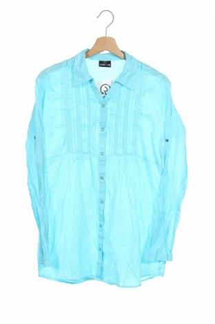 Детска риза Crash One, Размер 15-18y/ 170-176 см, Цвят Син, Памук, Цена 5,40лв.