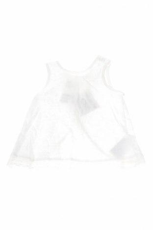 Детска туника H&M, Размер 3-6m/ 62-68 см, Цвят Бял, Памук, Цена 5,70лв.