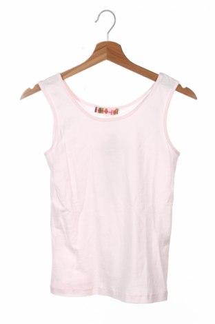 Detské tielko  Anne Kurris, Veľkosť 15-18y/ 170-176 cm, Farba Ružová, 100% bavlna, Cena  9,74€