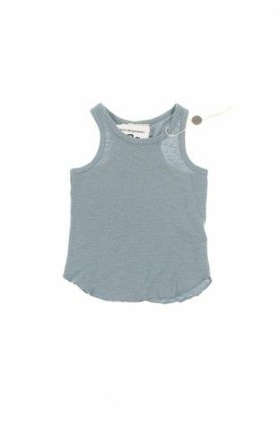 Detské tielko  Babe&tess, Veľkosť 12-18m/ 80-86 cm, Farba Modrá, 15% ľan, 85% bavlna, Cena  10,64€