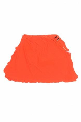 Detská sukňa  Fisichino, Veľkosť 7-8y/ 128-134 cm, Farba Oranžová, 85% polyester, 15% elastan, Cena  18,40€