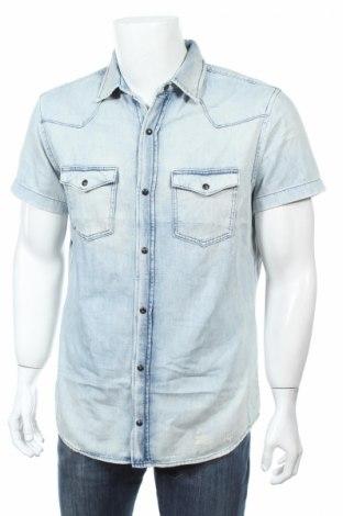 Pánska košeľa  Jack & Jones, Veľkosť L, Farba Modrá, Cena  10,64€