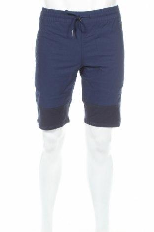 Pantaloni scurți de bărbați Fair Play, Mărime XS, Culoare Albastru, 60% bumbac, 38% poliester, 2% elastan, Preț 90,74 Lei