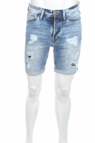 Pánské kraťasy Jack & Jones, Rozměr S, Barva Modrá, 98% bavlna, 2% elastan, Cena  168,00Kč