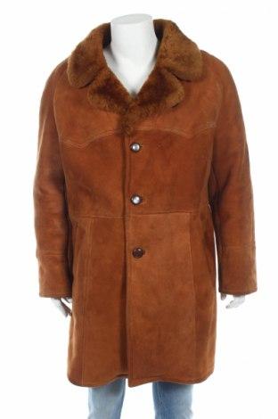 Αντρικό δερμάτινο παλτό