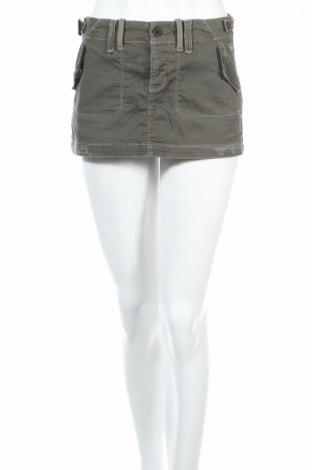 Пола Abercrombie & Fitch, Размер XS, Цвят Зелен, 98% памук, 2% еластан, Цена 9,00лв.