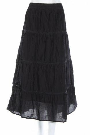 Φούστα Basic Editions, Μέγεθος L, Χρώμα Μαύρο, Βαμβάκι, Τιμή 3,96€