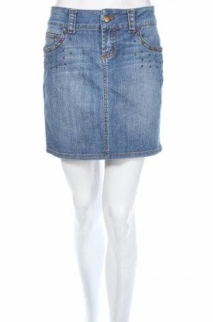 Φούστα Cache, Μέγεθος XS, Χρώμα Μπλέ, 97% βαμβάκι, 3% ελαστάνη, Τιμή 7,96€