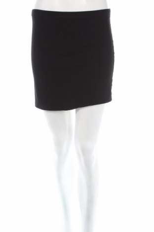Пола H&M Divided, Размер M, Цвят Черен, 95% памук, 5% еластан, Цена 6,28лв.