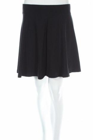 Пола H&M Divided, Размер M, Цвят Черен, 95% памук, 5% еластан, Цена 8,45лв.