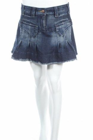 Пола Miss Swan, Размер M, Цвят Син, 80% памук, 10% полиестер, 10% еластан, Цена 6,00лв.