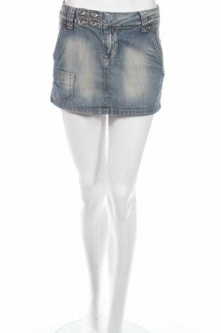 Φούστα Only Jeans, Μέγεθος S, Χρώμα Μπλέ, 100% βαμβάκι, Τιμή 5,53€