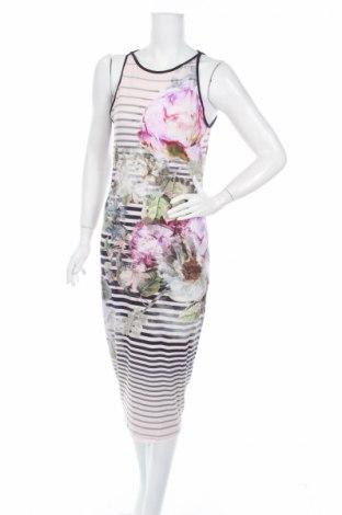 Φόρεμα Ted Baker, Μέγεθος L, Χρώμα Πολύχρωμο, 92% βισκόζη, 8% ελαστάνη, Τιμή 52,33€