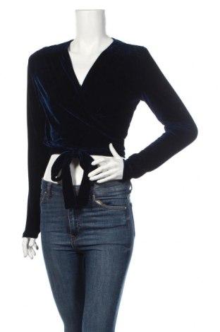 Болеро Bardot, Размер M, Цвят Син, 97% полиестер, 3% еластан, Цена 21,02лв.