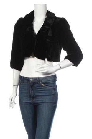 Болеро Per Una By Marks & Spencer, Размер M, Цвят Черен, 82% вискоза, 18% коприна, Цена 26,75лв.