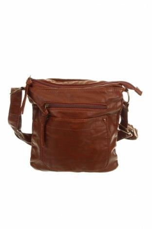 Τσάντα, Χρώμα Καφέ, Δερματίνη, Τιμή 8,22€