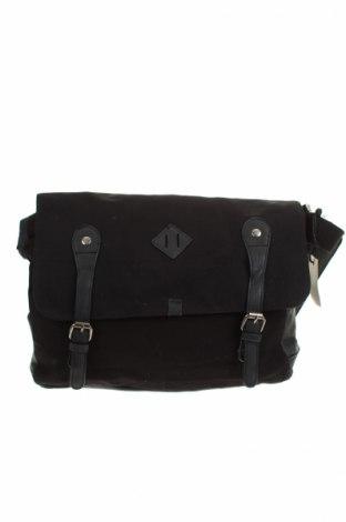 Τσάντα Jeanswest, Χρώμα Μαύρο, Κλωστοϋφαντουργικά προϊόντα, Τιμή 21,08€