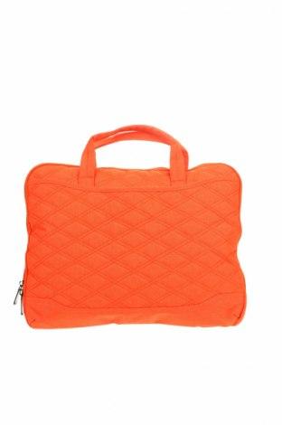 Τσάντα φορητού υπολογιστή, Χρώμα Πορτοκαλί, Κλωστοϋφαντουργικά προϊόντα, Τιμή 8,22€