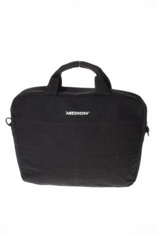 Τσάντα φορητού υπολογιστή Medion, Χρώμα Μαύρο, Κλωστοϋφαντουργικά προϊόντα, Τιμή 12,14€