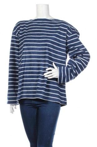 Дамска поларена блуза, Размер XXL, Цвят Син, Полиестер, Цена 18,52лв.