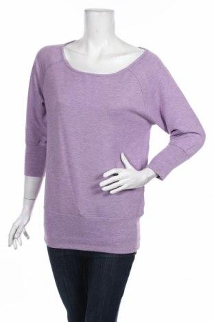 Дамска блуза Active By Tchibo, Размер XS, Цвят Лилав, 63% полиестер, 32% вискоза, 5% еластан, Цена 15,96лв.