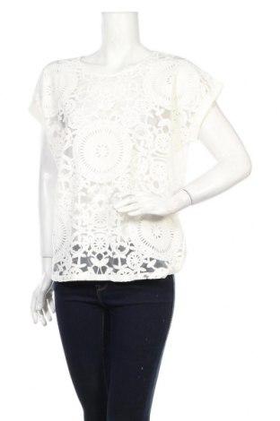 Дамска блуза Desigual, Размер XL, Цвят Бял, 82% памук, 18% полиестер, Цена 56,88лв.