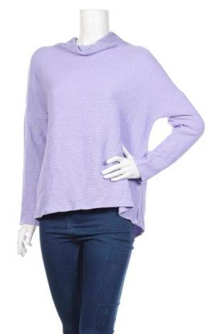 Дамска блуза Faber, Размер M, Цвят Лилав, 50% памук, 50% полиакрил, Цена 18,52лв.