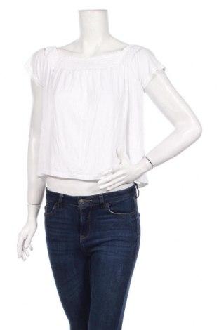 Γυναικεία μπλούζα H&M Divided, Μέγεθος M, Χρώμα Λευκό, 95% βισκόζη, 5% ελαστάνη, Τιμή 3,51€