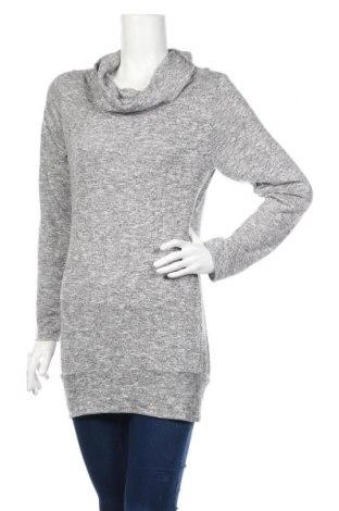 Дамска блуза Ltb, Размер M, Цвят Сив, Цена 18,52лв.