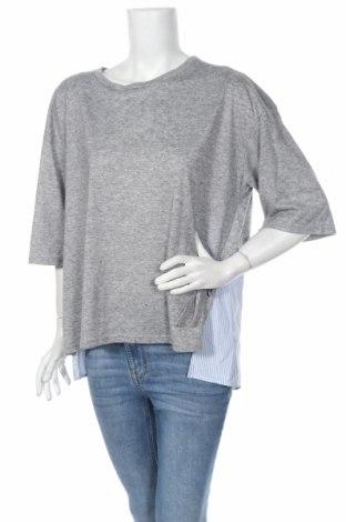Дамска блуза Marina Rinaldi, Размер L, Цвят Сив, Цена 58,50лв.