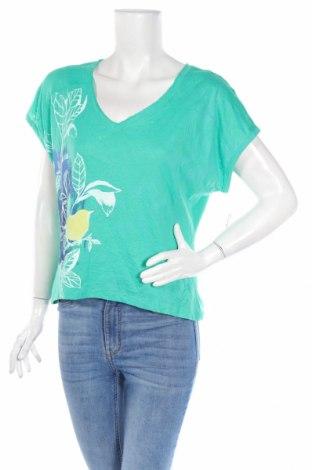 Dámska blúza So, Veľkosť L, Farba Zelená, 55% bavlna, 45% polyester, Cena  15,09€