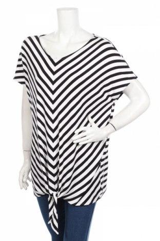 Дамска блуза Street One, Размер XL, Цвят Черен, 95% вискоза, 5% еластан, Цена 17,01лв.