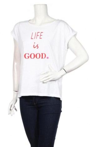 Dámske tričko Tom Tailor, Veľkosť S, Farba Biela, 50% bavlna, 50% polyester, Cena  20,10€