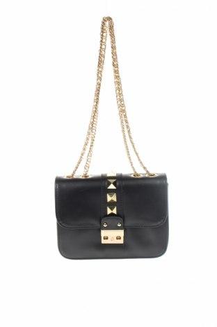 Γυναικεία τσάντα, Χρώμα Μαύρο, Δερματίνη, Τιμή 7,60€
