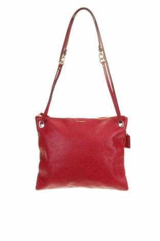 Geantă de femei Coach, Culoare Roșu, Piele naturală, Preț 285,16 Lei