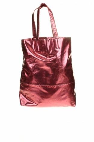 Γυναικεία τσάντα Marc Cain, Χρώμα Ρόζ , Δερματίνη, Τιμή 38,32€