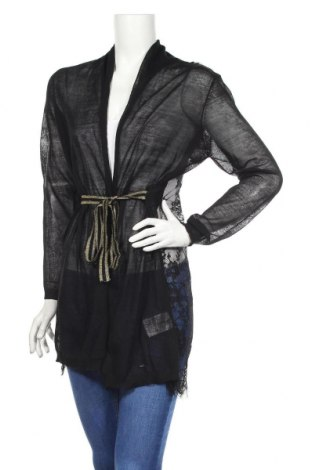 Γυναικεία ζακέτα Gaudi, Μέγεθος XL, Χρώμα Μαύρο, Βισκόζη, πολυαμίδη, Τιμή 36,74€