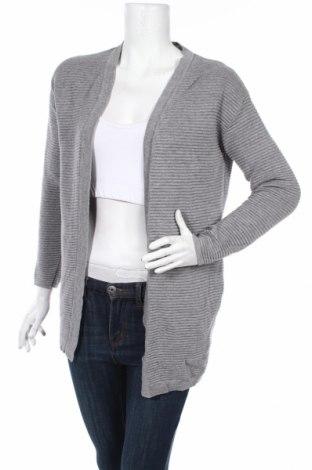 Cardigan de damă H&M, Mărime XS, Culoare Gri, 60% bumbac, 40% viscoză, Preț 85,26 Lei