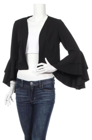 Cardigan de damă Ralph Lauren, Mărime M, Culoare Negru, 94% poliester, 6% elastan, Preț 602,63 Lei