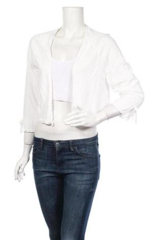 Γυναικεία ζακέτα S.Oliver, Μέγεθος XL, Χρώμα Λευκό, 65% βισκόζη, 35% πολυαμίδη, Τιμή 19,30€