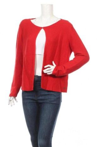 Cardigan de damă Tom Tailor, Mărime XL, Culoare Roșu, Bumbac, Preț 155,26 Lei
