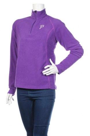 Дамска поларена блуза Bjorn Daehlie, Размер M, Цвят Лилав, Полиестер, Цена 19,55лв.