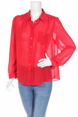 Dámska košeľa  E-Vie, Veľkosť L, Farba Červená, Polyester, Cena  9,70€