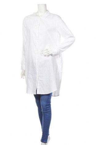 Dámska košeľa  H&M L.o.g.g, Veľkosť M, Farba Biela, 52% ľan, 48% bavlna, Cena  18,19€