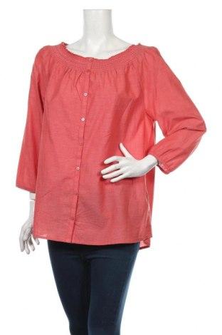 Dámska košeľa  Tom Tailor, Veľkosť XL, Farba Červená, Bavlna, Cena  30,41€