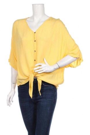 Dámska košeľa  Tom Tailor, Veľkosť M, Farba Žltá, Viskóza, Cena  21,90€