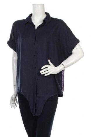 Dámska košeľa  Tom Tailor, Veľkosť L, Farba Modrá, 70% viskóza, 30% ľan, Cena  19,30€